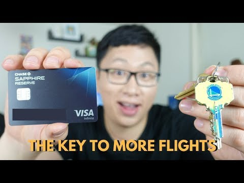 The Key To More Flights From Chase Ultimate Rewards
