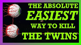 The ABSOLUTE EASIEST Way to Beat The Twins in Terraria!