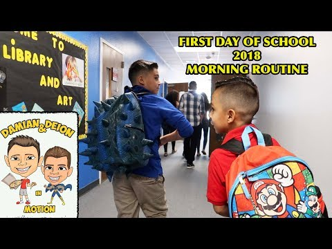 FIRST DAY OF SCHOOL & MORNING ROUTINE VLOG 2018 | D&D SQUAD