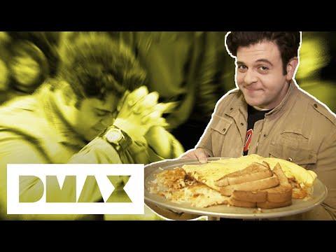 Adam Vs The Southwestern Exposure 12 Egg Omelette | Man V. Food
