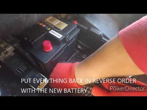 How To Remove - Replace Battery For MK2 MKII Citroën C4 Picasso 2014 - ON
