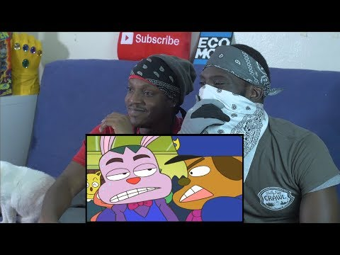 PaRappa the Parody – How Not to Rob a Bank! Reaction