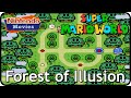 Super Mario World - World 5: Forest of Illusion (Multiplayer Walkthrough,  All Exits)