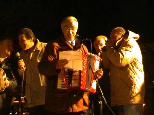 Gambatesa maitunat 1-1-2005: canzone Pasquale Vezza