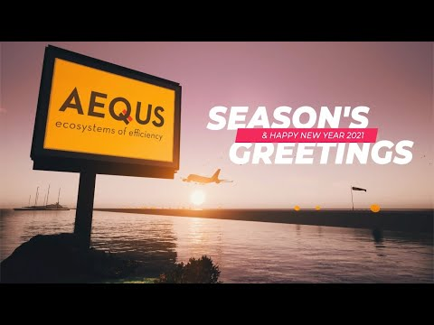 Aequs Season's Greetings and Happy New Year 2021