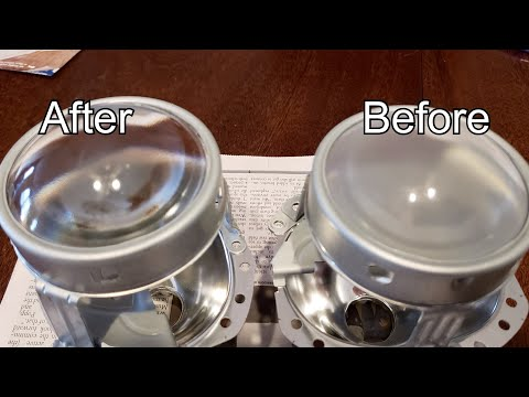 Team OTR Trucking   How To Clean Cloudy HID Projection Lenses