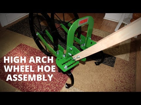 Hoss Tool High Arch Wheel Hoe ~~ Assembly