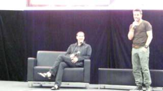 Christopher Heyerdahl & Ryan Robbins talk Sanctuary (Armageddon 2011)