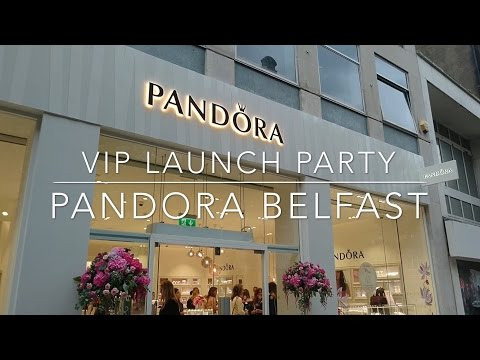 VIP Launch Party: Pandora Jewellery Flagship Store!