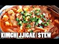 VEGAN KIMCHI JJIGAE (KIMCHI STEW) RECIPE // easy, quick dinner