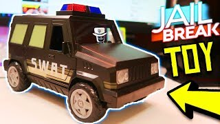 Roblox Toys Jailbreak Swat Unit Series 4 Jailbreak Swat Unit Toy Unboxing Giveaway Roblox Jailbreak Youtube