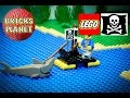 Renegades Raft 6234 LEGO Pirates - Stop Motion Review