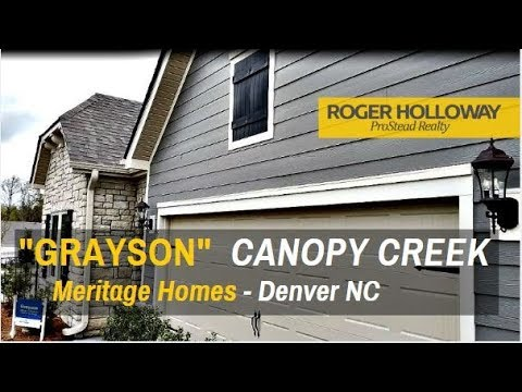 Get The Best Results! Meritage Homes' GRAYSON - Canopy Creek
