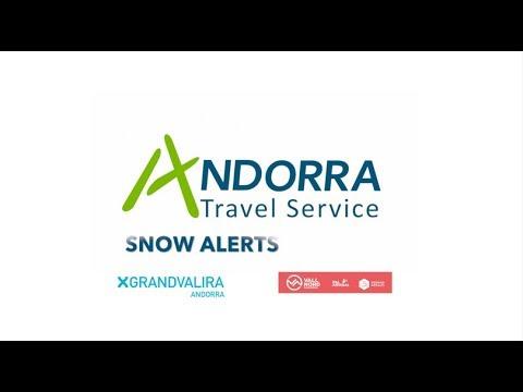 Andorra Snow Alerts 7th Dec