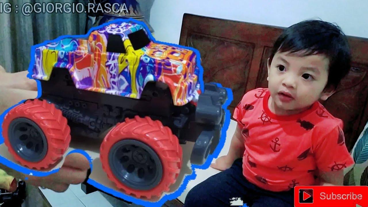 GIO ❤ Seru Main Monster Jam Dirt Monster Truck - SuperDuper Ziyan
