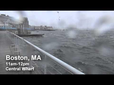 Hurricane Sandy - Boston, MA Area