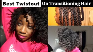 Twist Out Tutorial | The Best Twist Out on Transitioning Hair