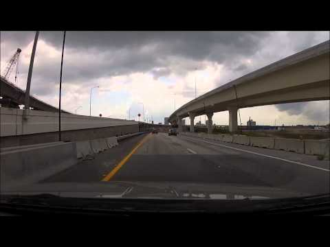 Tampa to St  Pete via I 275 and Crosstown