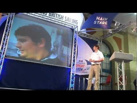 Oliver's Travels at the 2012 RYA Dinghy Show