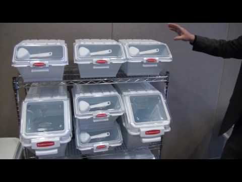 Rubbermaid Food Storage Containers | Commercial Airtight Ingredient Storage