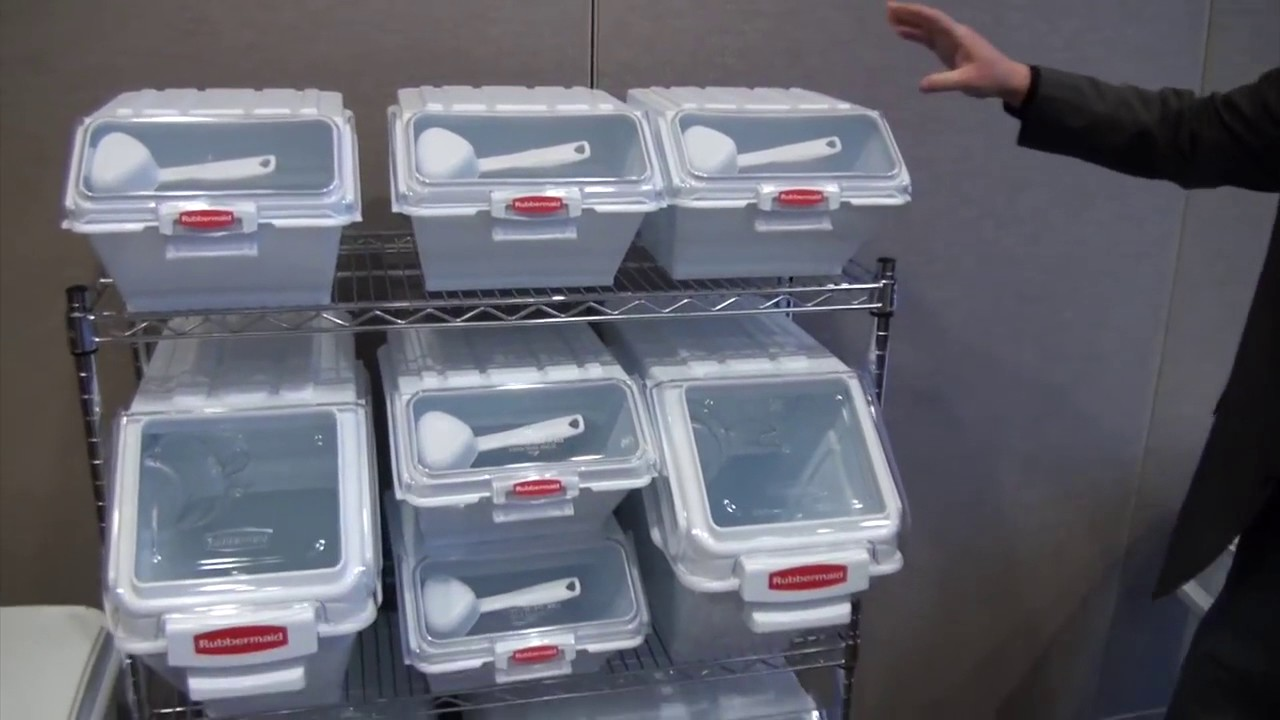 Rubbermaid Food Storage Containers Commercial Airtight Ingredient