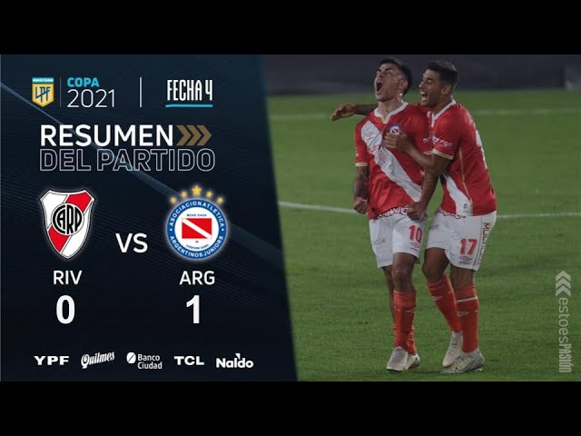 Copa De La Liga | Fecha 4 | resumen de River - Argentinos Juniors