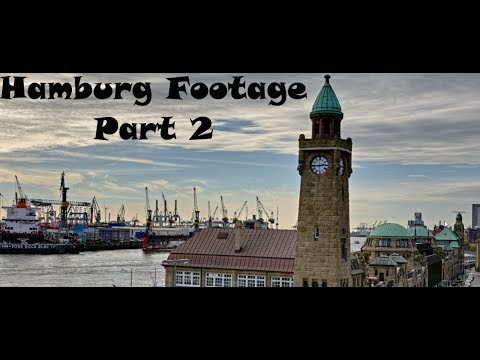 Hamburg Germany Footage | Part 2 | GMNC Movies | In Full-HD