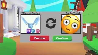 I Traded My DREAM PET for THIS in Roblox Adopt Me + Giveaway Winner
