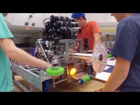 GET SMART FRC Team 3556 - Robot Reveal 2018