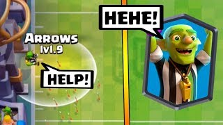 Goblin Referee Hidden Secret :: Clash Royale :: Touchdown Gameplay Tips & Strategy!