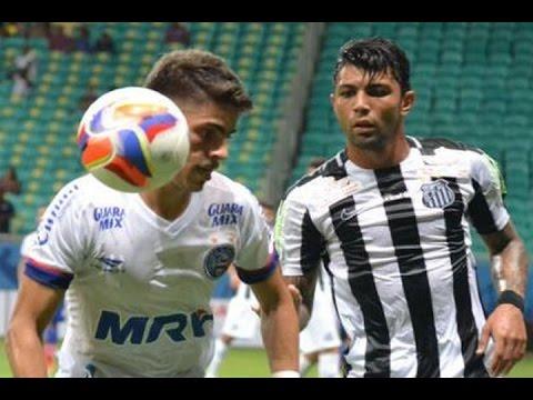 Gols, Bahia 2 x 2 Santos - Amistoso 23/01/2016