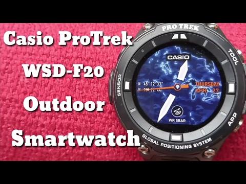Casio ProTrek WSD-F20 : Overnight Camp & Hike Field Test