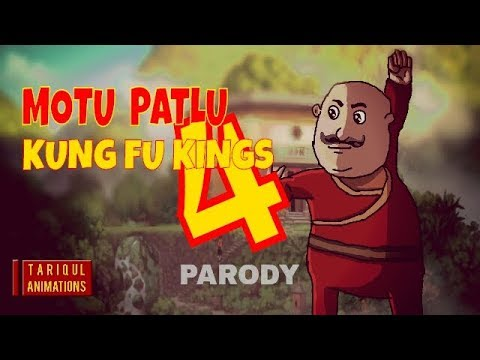 Motu Patlu Kung Fu Kings 4 (Fan Made  Animated Parody)