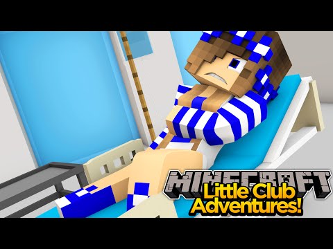 Minecraft Little club Adventures - Little Carly is RUSHED TO HOSPITAL!!!