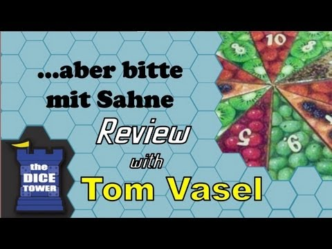 ...aber bitte mit Sahne Review - with Tom Vasel