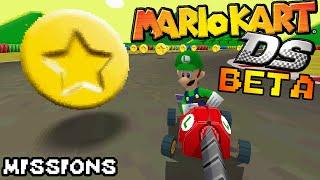 Mario Kart DS Beta: Missions
