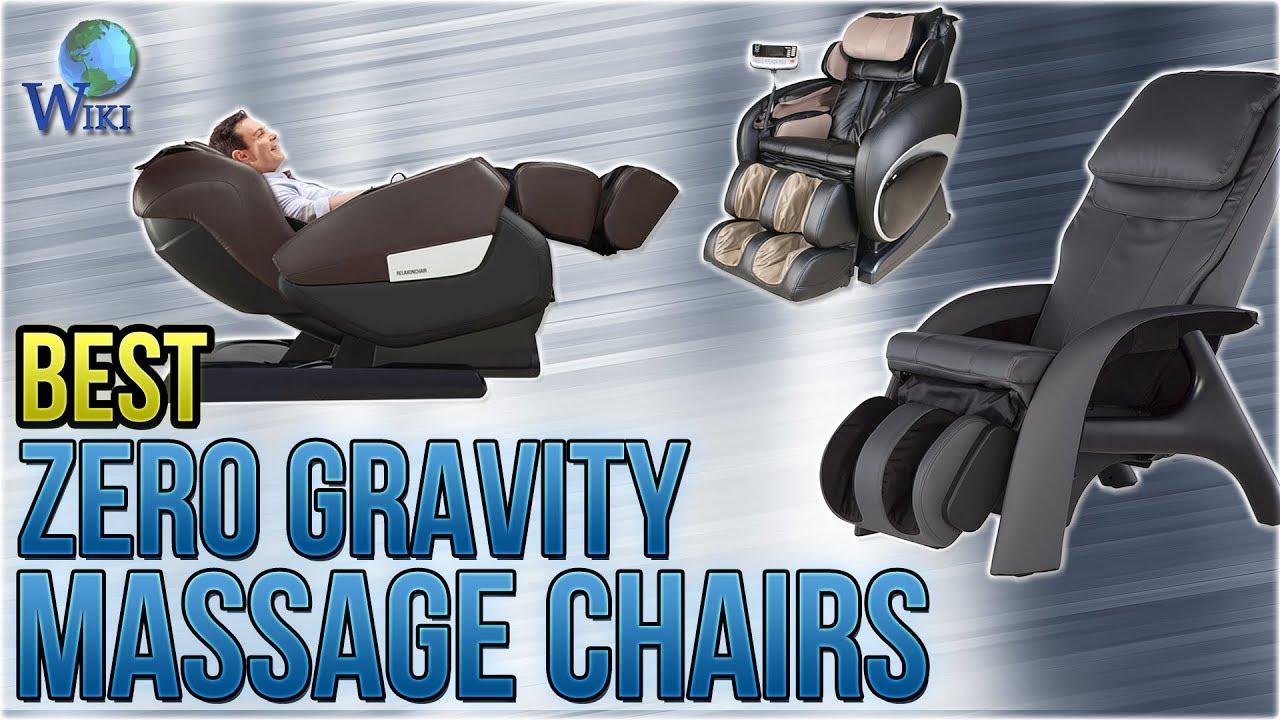 Best Zero Gravity Massage Chair Round Rocking 9 Chairs 2018 Youtube