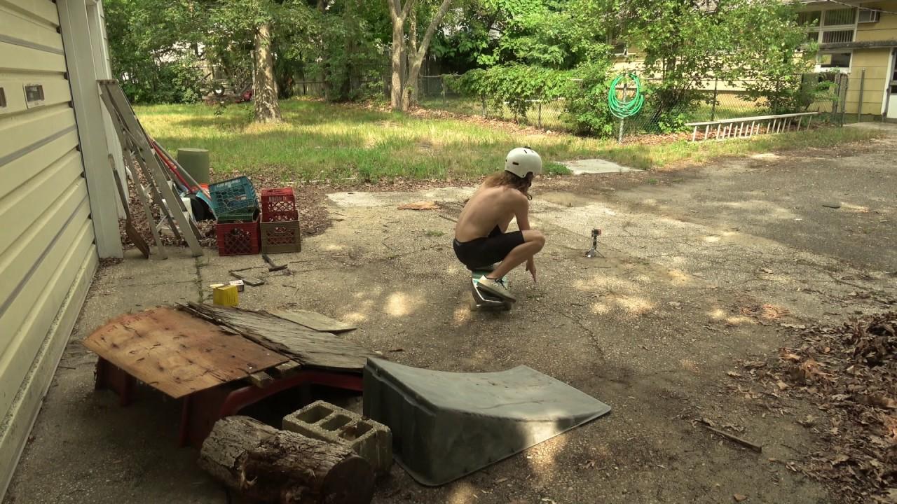 sketchy backyard ramp youtube