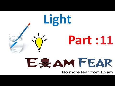 Physics Light Part 11 (Image formation by Concave & Convex Mirror) Class 7 VII