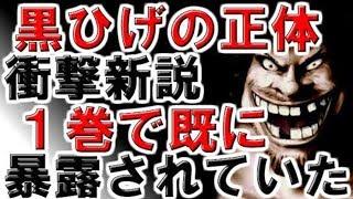 【ワンピース】衝撃!既に 1巻で暴露済 黒ひげ正体 驚愕の新説!【コミック 収納】