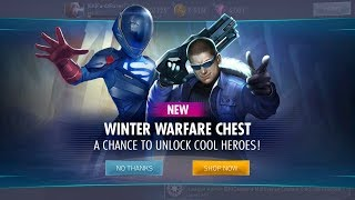 Winter Warfare Chest Openings | MAX OUT Multiverse Armored Supergirl | Injustice 2 Mobile