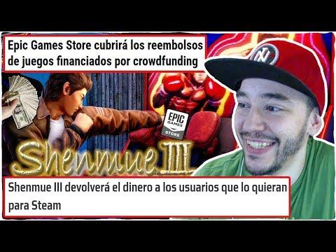 La COMUNIDAD Le GANA A SHENMUE 3 Y EPIC GAMES