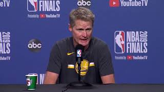 NBA Finals: Kerr has mixed emotions after incredible win