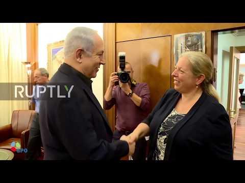 Israel: Netanyahu welcomes Jordan embassy guard as diplomatic stand-off ends after shooting