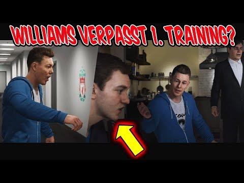 Verpasst WILLIAMS das 1. Training + neuer WERBE Deal in THE JOURNEY 3 - Fifa 19 Karrieremodus #2