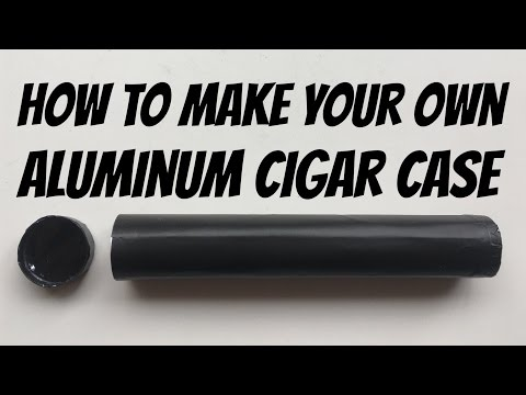 Serrated Sunshine - Episode 2 - Tutorial / How to / DIY - Cigar case for blunt, joint or chillum