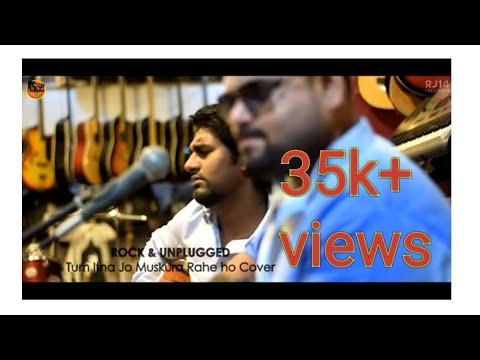 Tum Itna Jo Muskura Rahe Ho   cover by Rock&Unplugged   Jagjit Singh