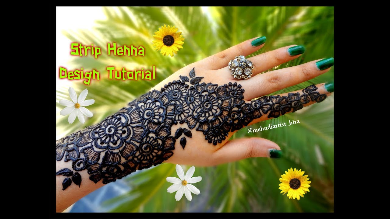 Henna Tattoo Designs For Diwali: Apply Latest Gulf Easy Simple Henna Mehndi Designs For