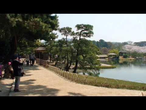 後楽園の春 Koraku-en Garden in Spring .