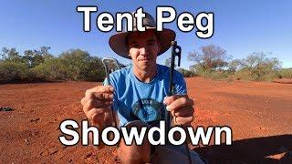 Supa Peg vs Snowpeak Stakes | Tent Peg Showdown
